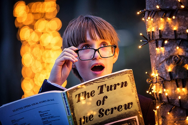 Talented Methody schoolboy and treble singer, Garbhan McEnoy, aged 11 from Belfast, will perform with award-winning company, Northern Ireland Opera, taking  to the stage as 'Miles' in Benjamin Britten's chilling opera, The Turn of The Screw