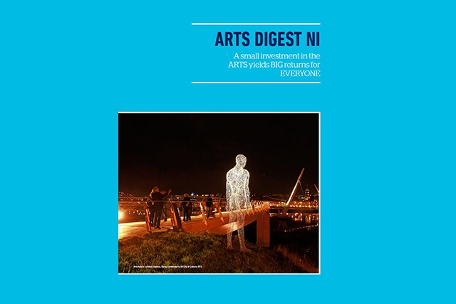 The Arts Digest highlights the high level of education and outreach activities undertaken by publicly-funded arts organisations and what the sector is doing to tackle disadvantage and promote health and well-being