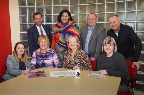 The Allianz Arts & Business NI 2019 Awards judging panel