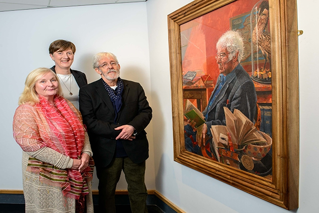 New Home For Seamus Heaney Portrait Arts Council Of