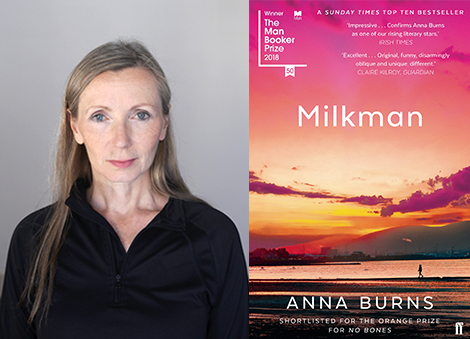 Belfast to welcome Man Booker Prize-winning author Anna Burns