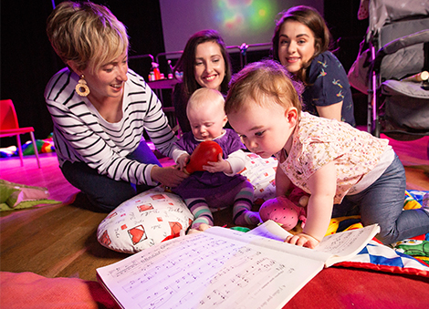 Live classical music for little listeners at The Crescent Arts Centre