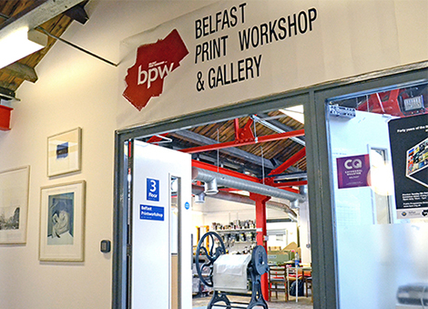Own Art Launches at Belfast Print Workshop