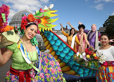Stage is set for 13th Belfast Mela Festival at Botanic Gardens