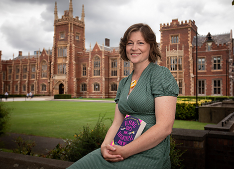 Kelly McCaughrain announced as the new Children's Writing Fellow for NI by Arts Council and Queen's