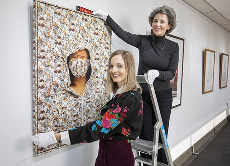 Exhibition celebrating female artists from NI launches to mark International Women's Day
