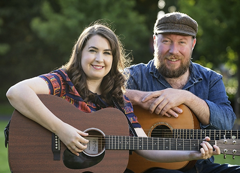 Musicians Ciara O'Neill and Matt McGinn bring the magic of Culture Night to Brussels