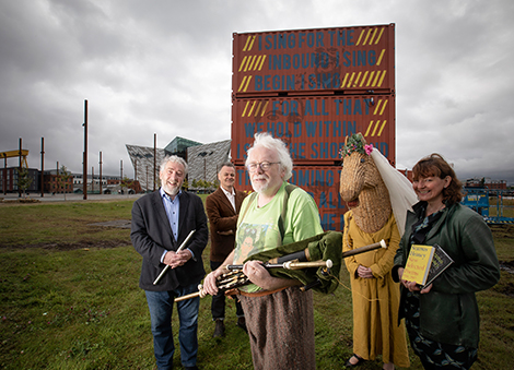 Tourism NI & the Arts Council join forces to launch spectacular arts programme at key tourism sites