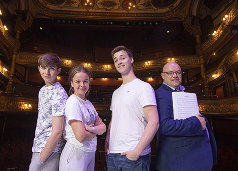 1,700 young, aspiring performers take to the stage at Belfast's Grand Opera House