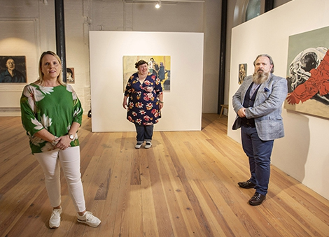 Art galleries safely reopen to the public across Northern Ireland