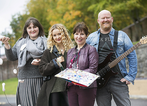 Four artists set to represent Northern Ireland on an Indian adventure