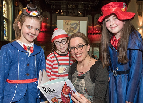Stories brought to life as Children's Writing Fellow hosts Derry workshops