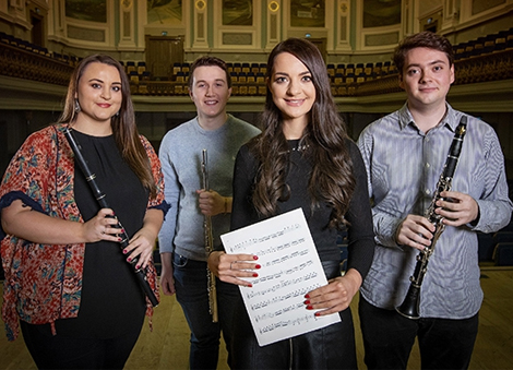 Five gifted young musicians awarded the BBC NI & Arts Council Young Musicians' Platform Award