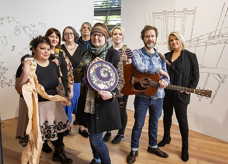 Career development awards for eleven artists with disabilities from Northern Ireland