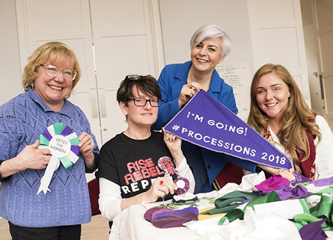 Calling all Derry girls - join the nationwide art project celebrating the centenary of women's vote