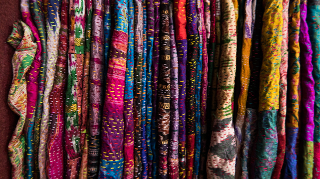 9259817c15fe ... hand woven saris, woodblock printed shirts and naturally dyed fabrics.  Textiles are literally woven into everyday life in India and represent so  much ...